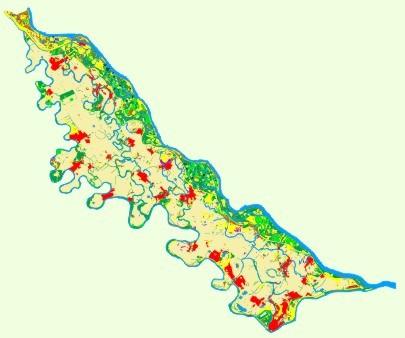 szigetköz térkép Szigetköz, 2002 szigetköz térkép